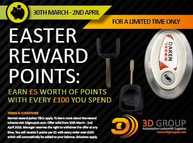 Advert: https://3dgroupuk.com/page/easter-rewards