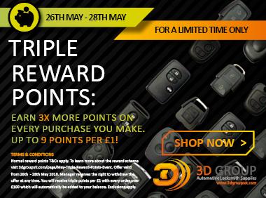 Advert: https://3dgroupuk.com/page/may-Triple-Reward-Points-Event?utm_source=L%26S_newsletter&utm_medium=middle_add&utm_campaign=Tripe_Reward_Points_Event_May