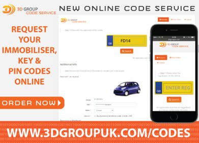 Advert: http://www.3dgroupuk.com/codes