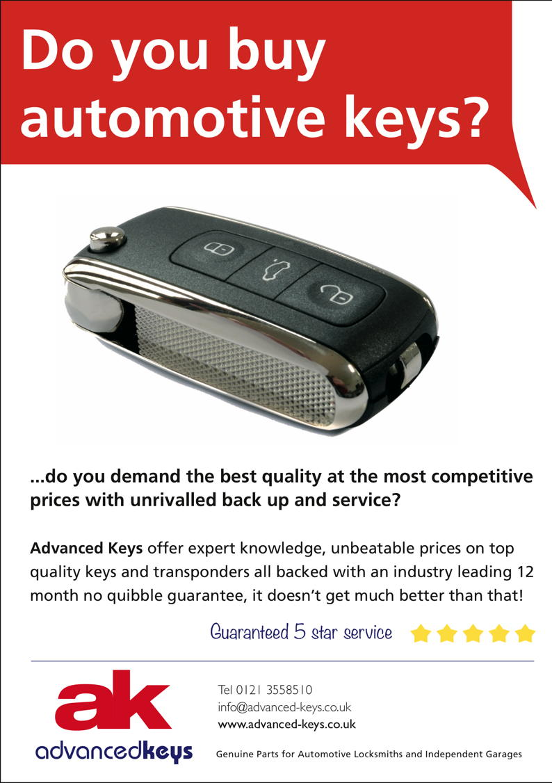 Advert: http://www.advanced-keys.co.uk/