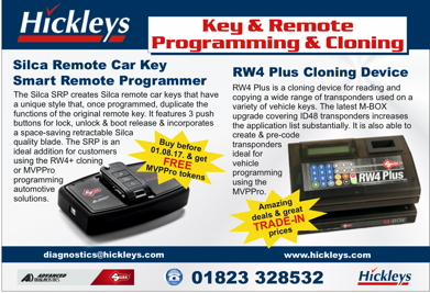 Advert: http://www.hickleys.com