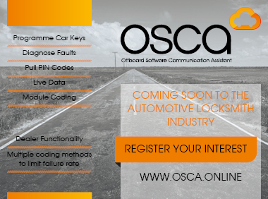 Advert: http://osca.online/?utm_source=Locks%20%26%20Security%20Email&utm_medium=email&utm_term=OSCA&utm_content=register_your_interest_today&utm_campaign=OSCA%20Teaser