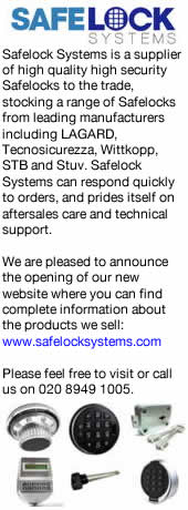 Advert: http://www.safelocksystems.com