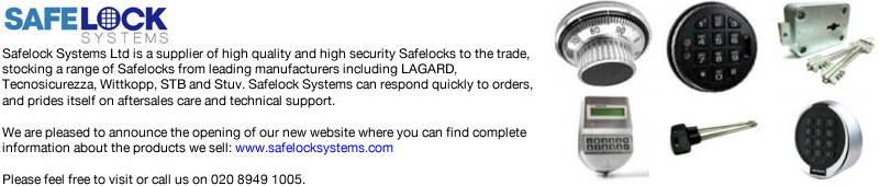 Advert: http://www.safelocksystems.com